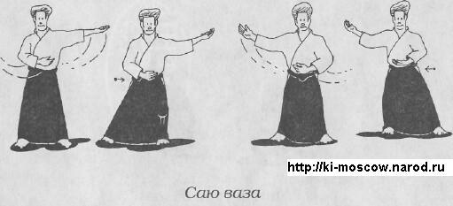 """Последовательность упражнений Айки Тайсо -  Джузеппе Раглионе """"Ки-Айкидо. Путь объединения сознания и тела"""""""