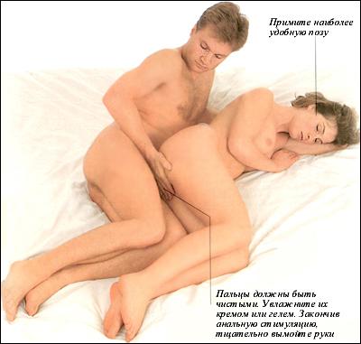 секс в анальное и аральное отверстия